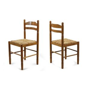 Achat Lot French Bois De Days 2 Jeanne Chaise Chaises En Vente c4ARjLq35