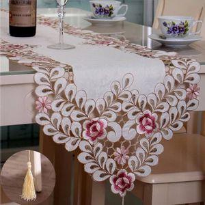 CHEMIN DE TABLE Chemin De Table Décoration Nappe Napperon Fleurs B