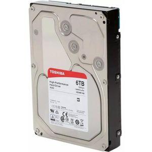 DISQUE DUR INTERNE Toshiba Disque Dur interne X300 3,5'' Bulk - 6 To