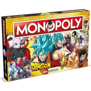 JEU SOCIÉTÉ - PLATEAU MONOPOLY - Dragon Ball Super