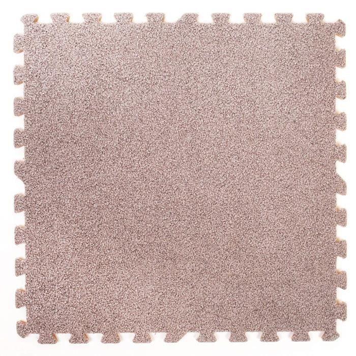 Tapis en mousse assemblables effet tapis - Parfait pour la protection des sols, le garage, l'exercice, le yoga, la salle de jeux.