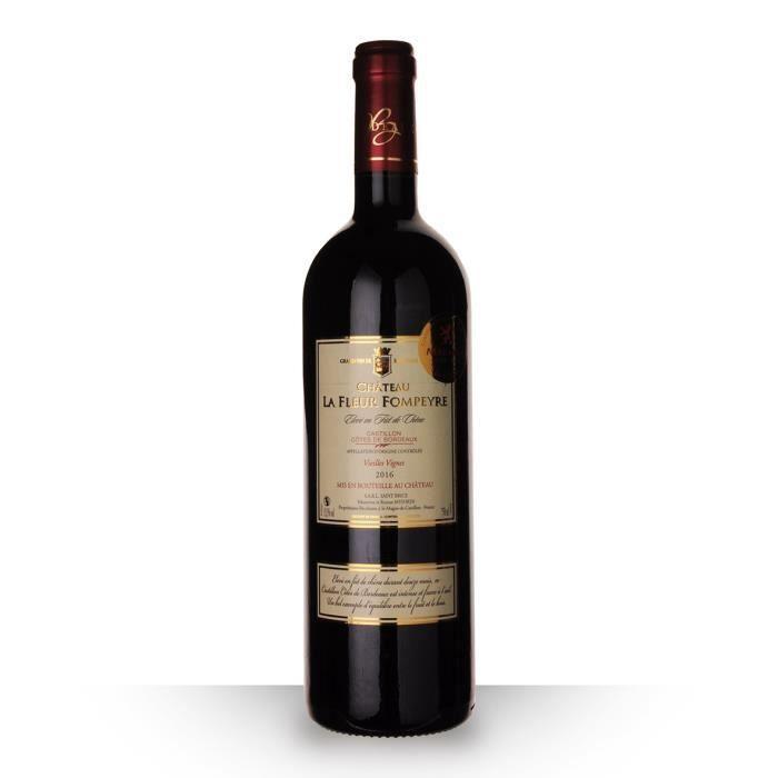 Château La Fleur Fompeyre 2016 AOC Côtes de Bordeaux Castillon - 75cl - Vin Rouge