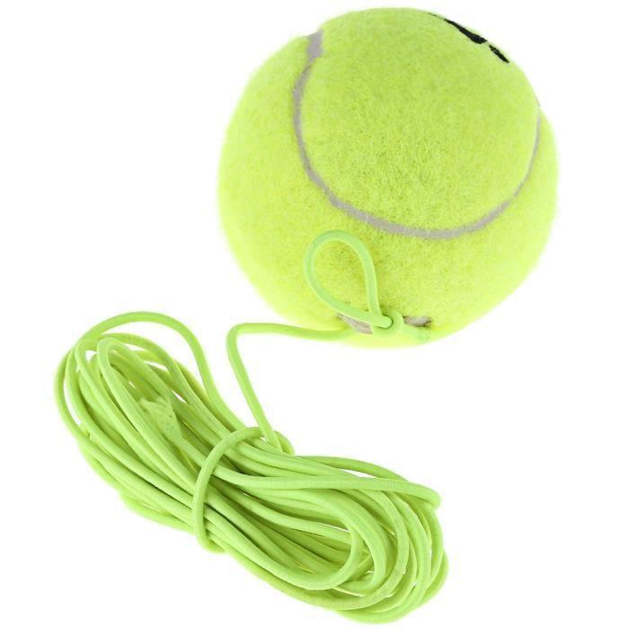 Tennis Cordes /Housse de raquette de Tennis /balles de tennis/ vibrations Amortisseurs/entraîneur de tennis, lot de 3