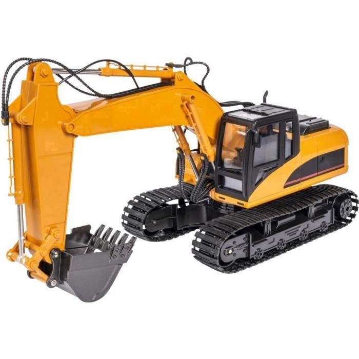 Véhicule de chantier Carson Modellsport Raupenbagger 500907332 1:16 Modèle fonctionnel RC 1 pc(s) - VEHICULE A CONSTRUIRE - ENGIN