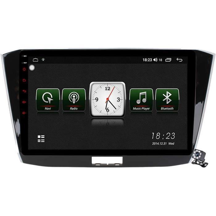 AUTORADIO Gokiu Android 10 101 Pouces Stereo Multimedia GPS Navigation pour VW Passat B8 Magotan 20152018 avec FM RDS Autoradio S419