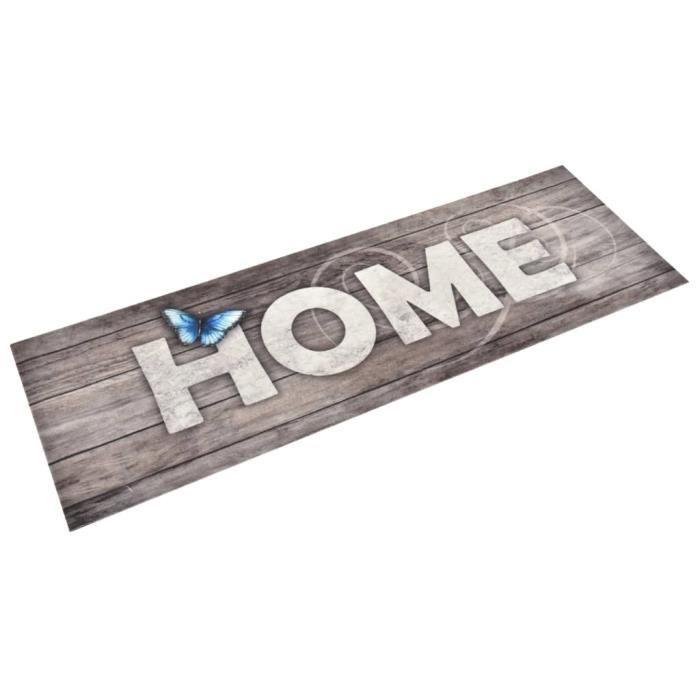 Tapis de sol de cuisine lavable Home 60x180 cm 315974 HB029