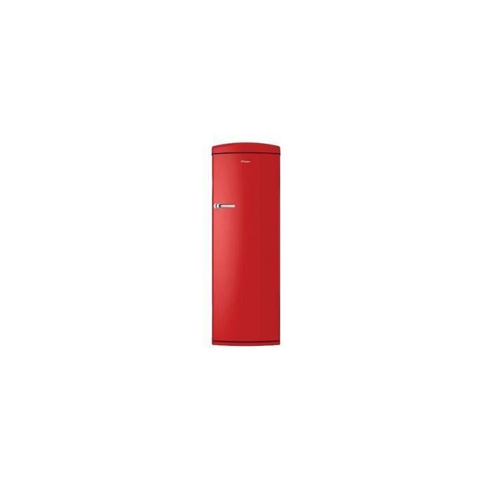 REF 1P ANNEES 50 281+30L 4* A+ + H180XL60CM ROUGE - CANDY - Accueil > CODEP > EDM > Refrigerateur > Réfrigérateur 1 PORTE Codep