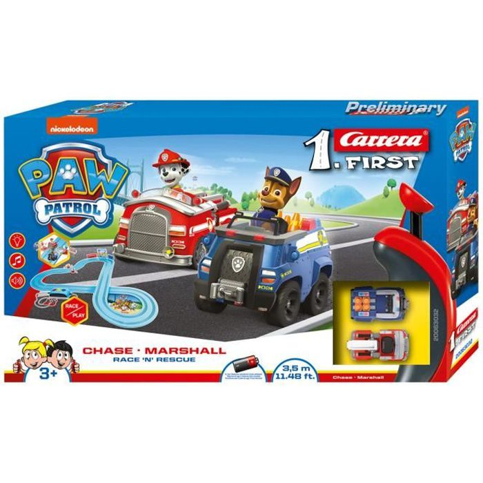 Carrera FIRST 63032 PAW PATROL - Race 'N' Rescue
