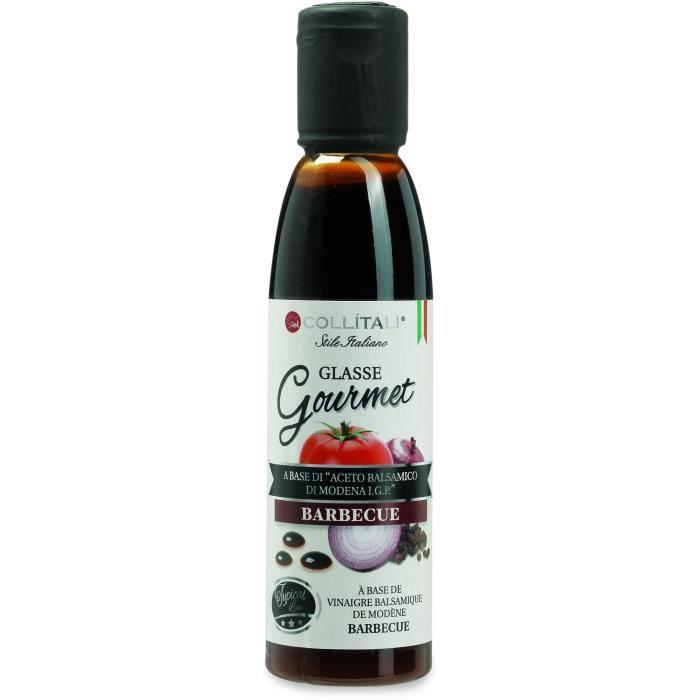 COLLITALI Sauce balsamique barbecue & plancha 180 g / 150 ml
