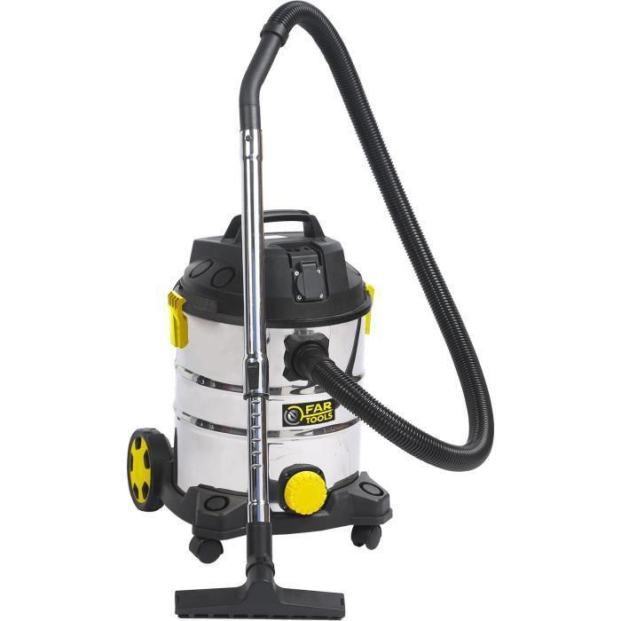 FARTOOLS PRO - NET-UP25IB Aspirateur liquides et poussières 1400 W - 101032