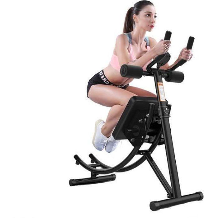 FREOSEN Abdominale Entraîneur AB Appareil Fitness Appartement Machine Avec Moniteur LED Abdominal Entraîneur Abdominal Pliable Verti