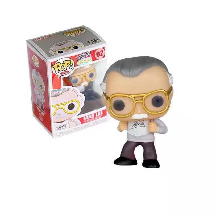 Figurine Funko Pop! Avengers:Stan Lee White 02