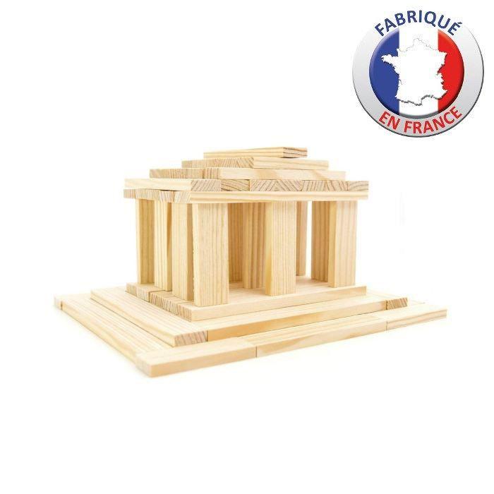 JEUJURA - TECAP 3XL - 120 planchettes en bois
