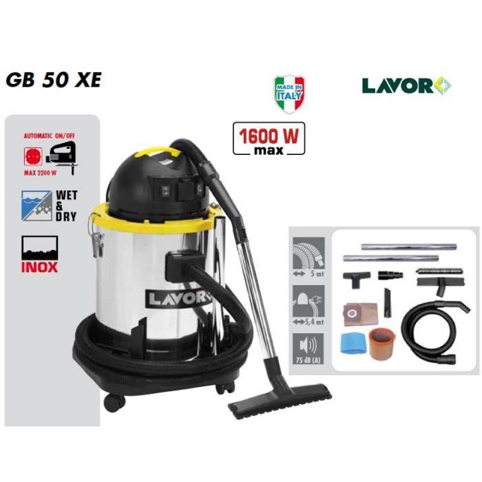 Lavor - Aspirateur eau et poussières 1400W 50L 70L/s - GB 50 XE