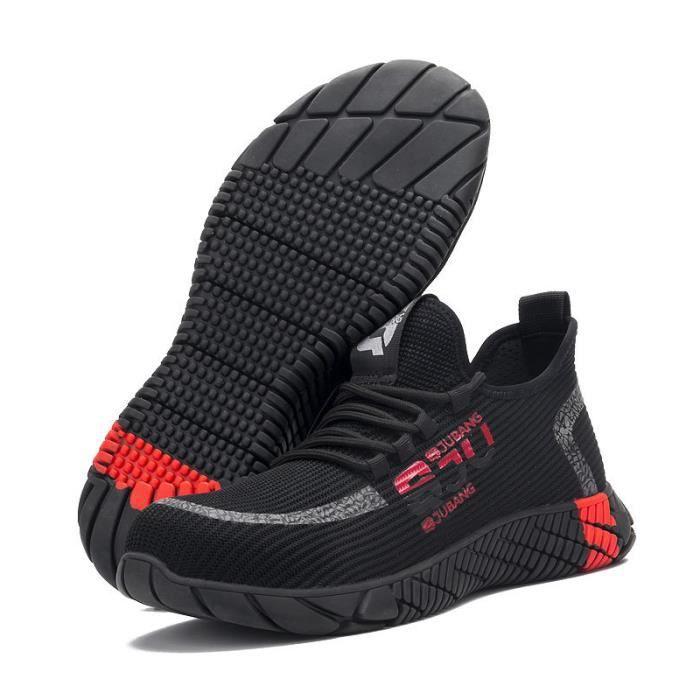 Chaussures de sécurité Unisex de marque anti smash prévention des coups de couteau résistant à l'usure antidérapant tremblement