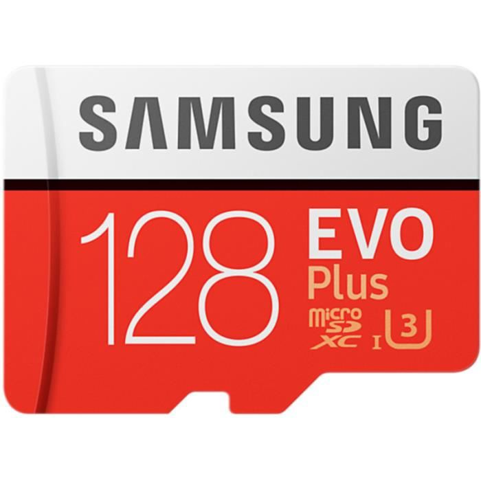 Carte Micro SD Samsung Micro SD 128Go EVO PLUS + adapt • Disque dur - Stockage • Informatique - Tablette