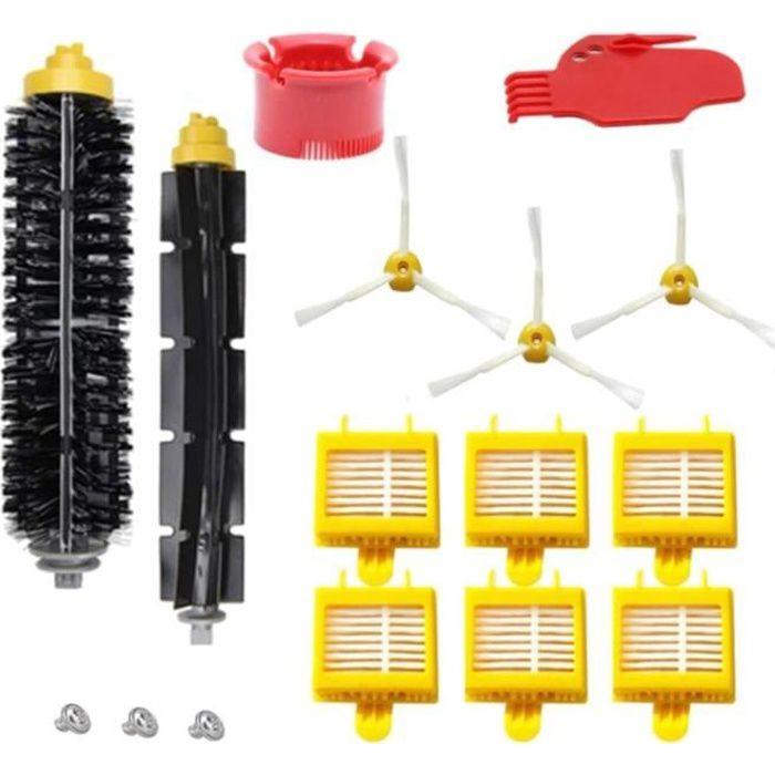 Kit D'Accessoires de Remplacement pour Aspirateur Compatible avec IRobot Roomba 700 Series 700720750760 Robots D'Aspirateur
