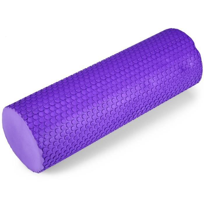 5,9 pouces Rouleau de Massage EVA Roller pour Pilates Yoga Exercise Fitness Gym Physiothérapie du Dos Relax Douleurs Dos Muscle