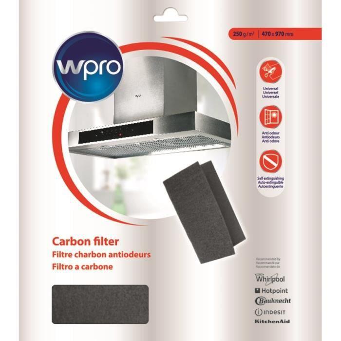 WPRO UCF017 Filtre à charbon universel