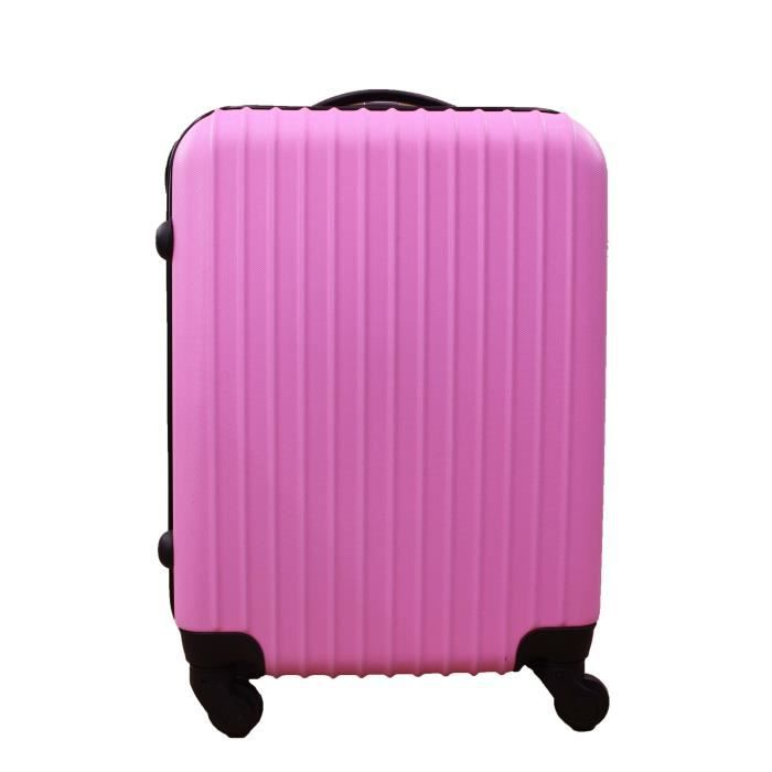bagage icepak valise cabine ryanair 4roues rose achat. Black Bedroom Furniture Sets. Home Design Ideas