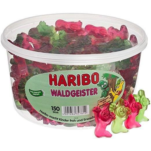 CONFISERIE DE SUCRE Haribo Waldgeister Tub 150pcs 1200g