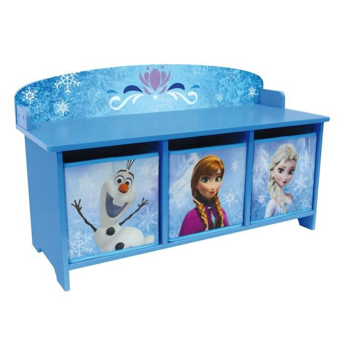 la reine des neiges banc et bac de rangement achat. Black Bedroom Furniture Sets. Home Design Ideas