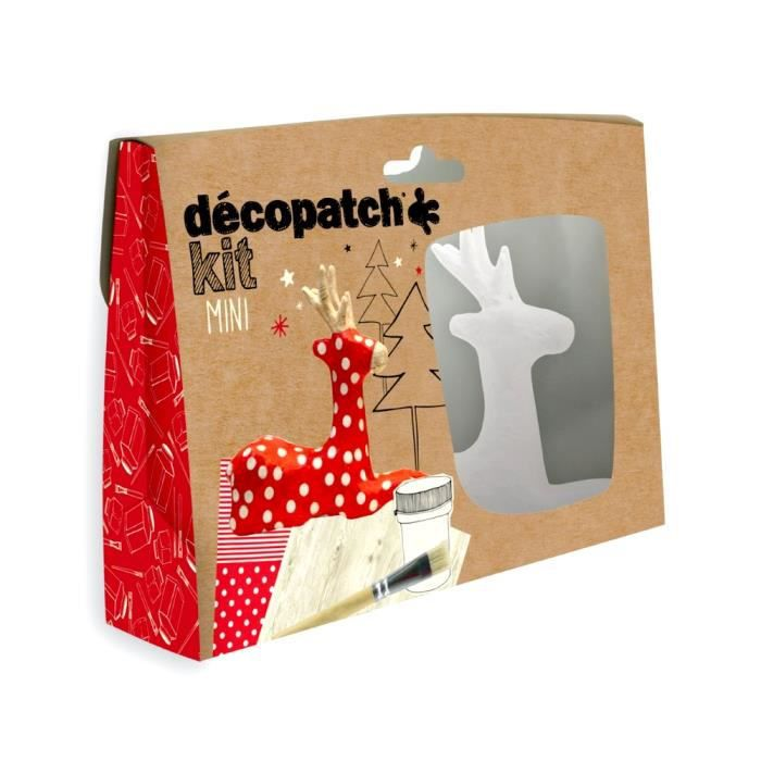 Kit décopatch Decopatch - Mini kit Enfant - Renne