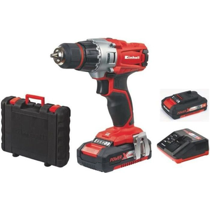 Einhell TE-CD 18/2 Li Kit Perceuse visseuse sans fil