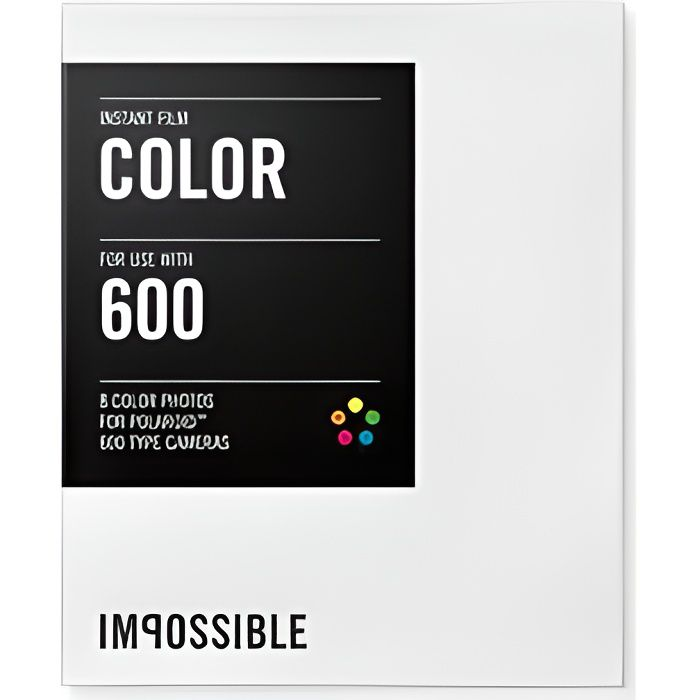 pellicule couleurs pour polaroid type 600 achat. Black Bedroom Furniture Sets. Home Design Ideas