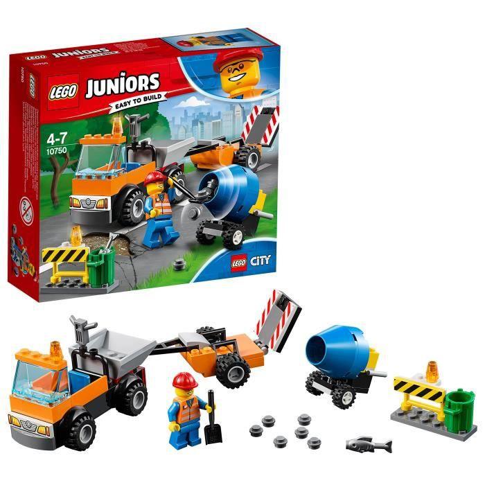 ASSEMBLAGE CONSTRUCTION Lego Route Junior Réparation de construction de ca
