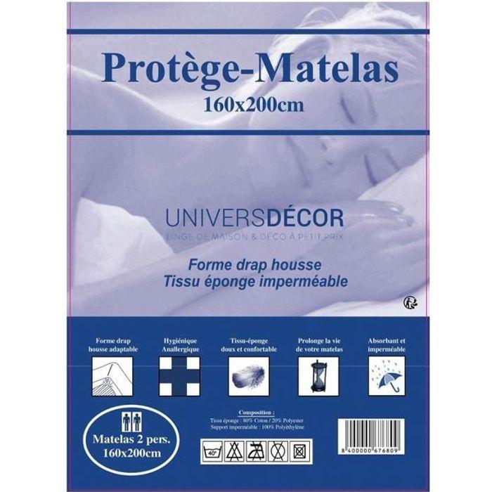 PROTÈGE MATELAS  Protège-matelas - Imperméables, absorbant et anti-