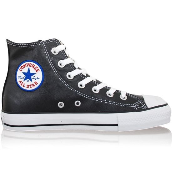 Converse - All Star cuir noir