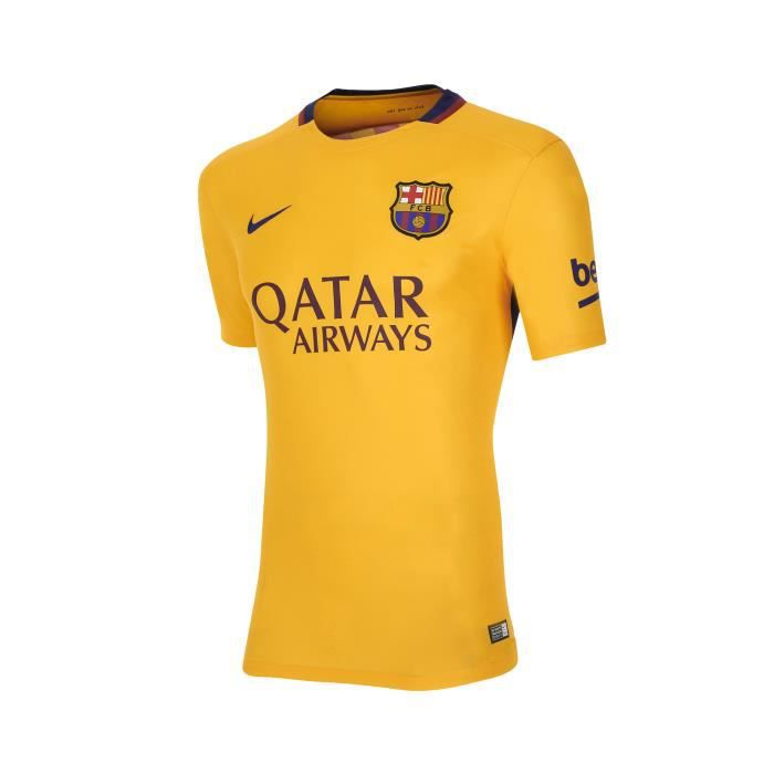 Maillot fc barcelone ext rieur 2015 2016 junior for Maillot barcelone exterieur