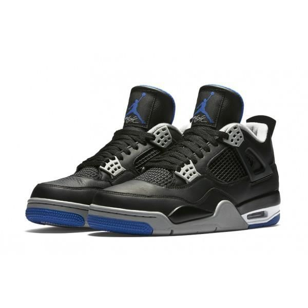 "Nike Air Jordan 4 ""Alternate Motorsport"" Noir/Bleu - Achat / Vente"