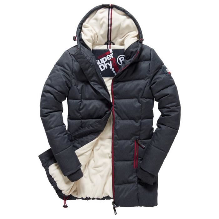 SUPERDRY Tall Sports Puffer Doudoune Femme Taille XS