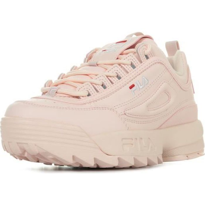 moins cher f8b7a 87119 Chaussure fila rose
