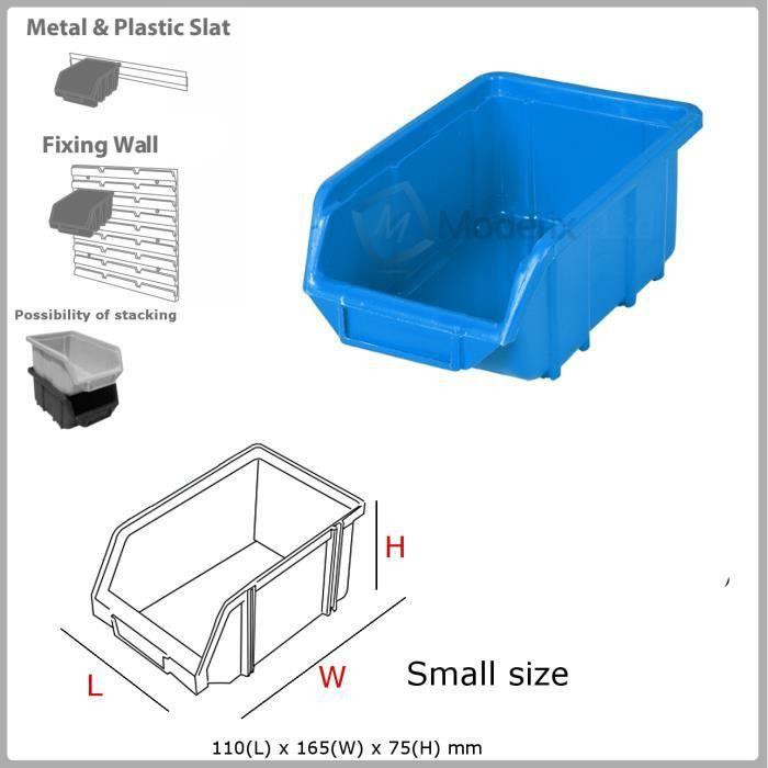 1 X Eco Petit Bleu Bac De Rangement Bacs En Plastique 110x165x75 Achat Vente Bac De Rangement Outils 1 X Bac De Rangement Cdiscount