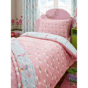 couette licorne achat vente couette licorne pas cher cdiscount. Black Bedroom Furniture Sets. Home Design Ideas