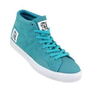 ALIFE Shell Toe Suede Turquoise
