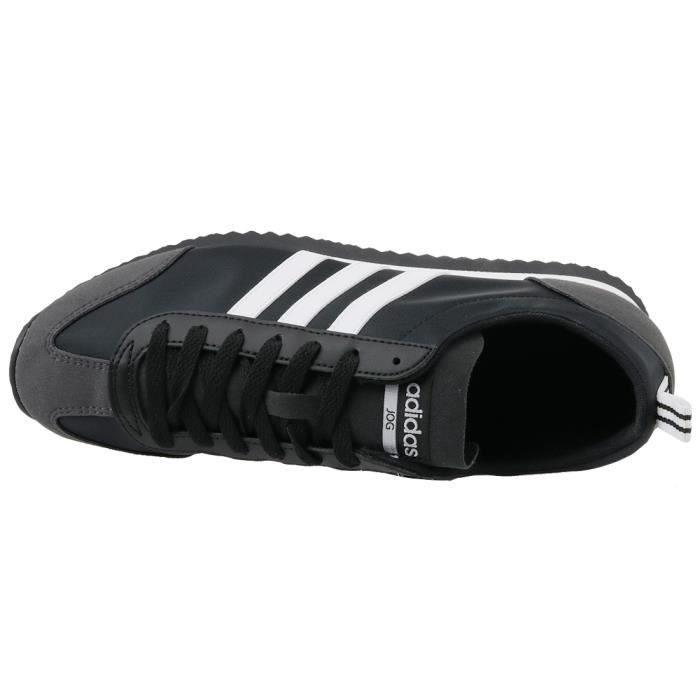 Adidas VS Jog BB9677 Homme Baskets Noir