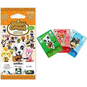 CARTE DE JEU Cartes Animal Crossing Série 2 (paquet de 3 cartes