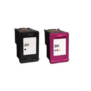 CARTOUCHE IMPRIMANTE 2 Compatible Encre Cartouche pour HP 301 XL Office