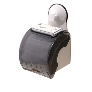 TISSU Salle de bain étanche Toilettes Porte-Sucker roule