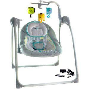 TRANSAT BEBE 2 LUXE Balancelle - transat bébé électrique L