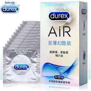 PRÉSERVATIF Durex air invisible 10 Préservatifs