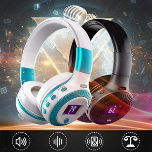 CASQUE AVEC MICROPHONE ELEGIANT Casque  Audio San Fil Bluetooth LCD USB T