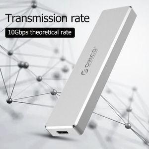 PACK PERIPHERIQUE ORICO M.2 Clé USB 3.1 Boîtier SSD Type C M.2 pour