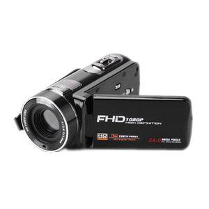 APPAREIL PHOTO RÉFLEX FHD 1080P 24MP HD Caméra Vision nocturne  Caméscop