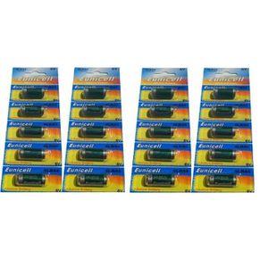 PILES Lot de 20 Piles Alcaline 4LR44 6V Eunicell