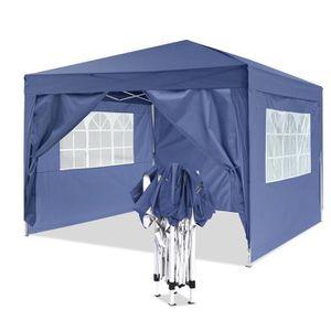 TENTE DE CAMPING ANCHEER Tente de réception pliante 3 x 3 m -  Tonn